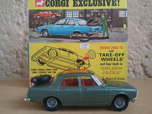 Rover 2000 TC, Corgi Toys (275)   < 379° D Ber (jap) https://de.pinterest.com/mr4261/rover-p6-p6b-tc-3500-2200-2000/