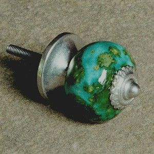 tema turquoise kitchen cabinet hardware knobs handles pulls ceramic turquoise pictured in ball shape pewter hardware working stud length 1 longer