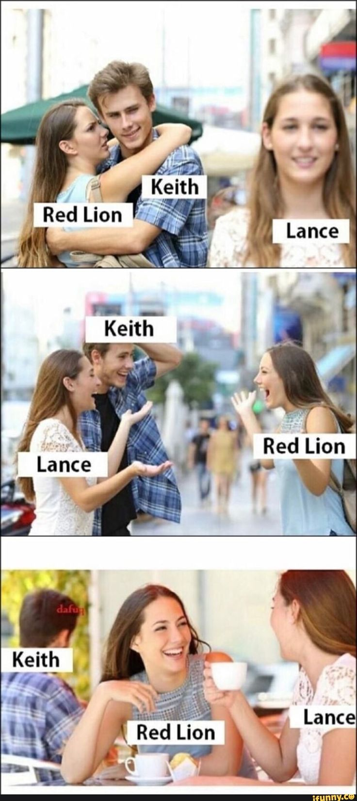 Keith / lance / the red lion