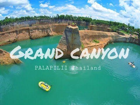 Cliff Jumping - Grand canyon Chiangmai [แกรนแคนยอนเชียงใหม่] - YouTube