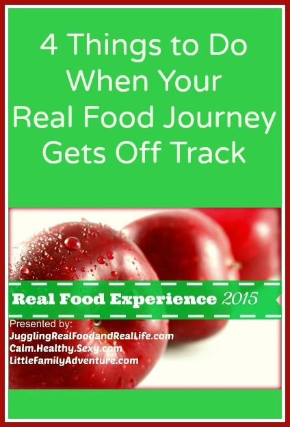 how to get on track with healthy eating
