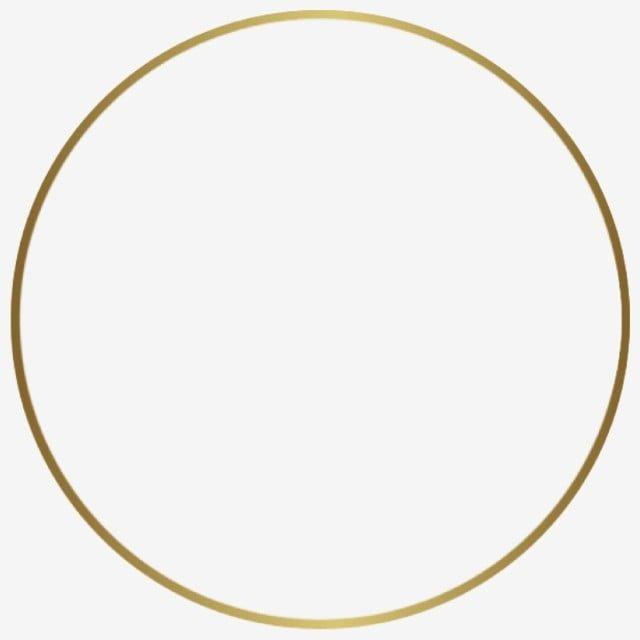 Round Golden Frame Round Circle Circular Png Transparent Clipart Image And Psd File For Free Download Circulo De Ouro Padrao De Ouro Molduras Redondas