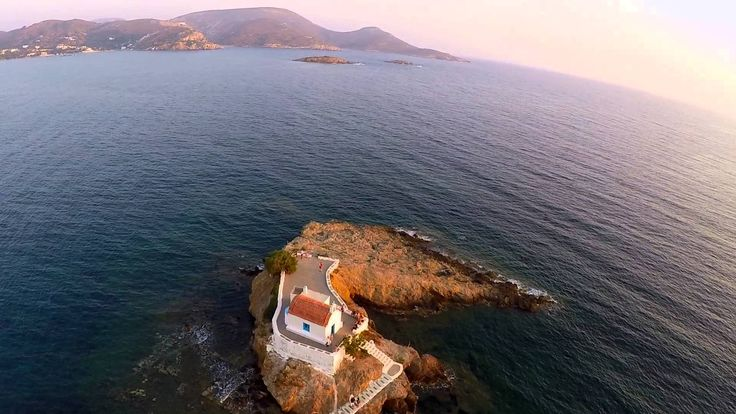 Flying over Leros Island with Paramotor Summer 2015