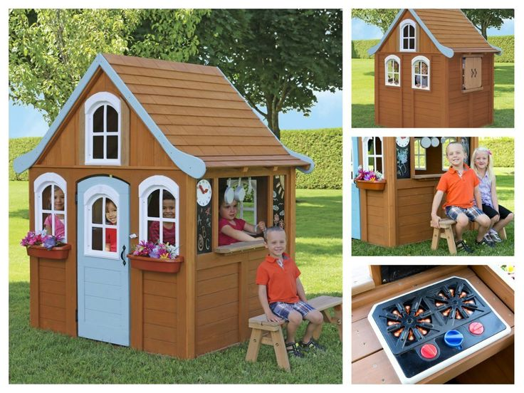 Outdoor Playhouses Toy : Best uk children wooden playhouse images on pinterest