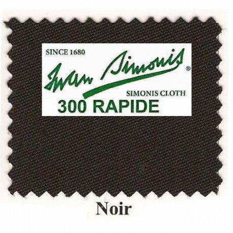 Kit tapis Simonis 300 B220 Noir - 260,00 €  #Jeux