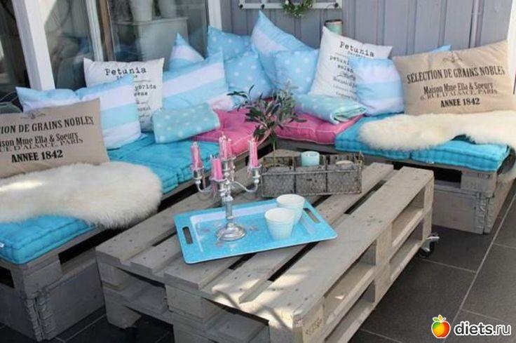 Мебель из поддонов - Jabuca