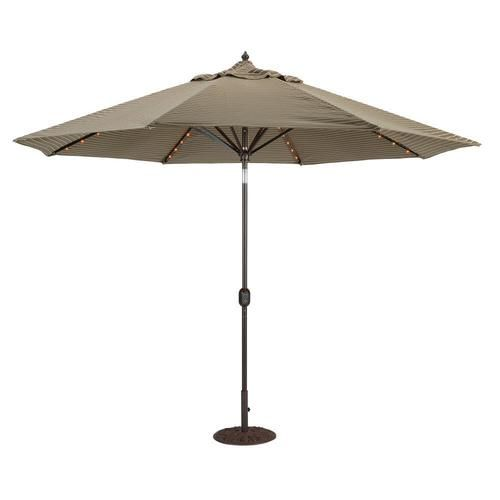 Cute Galtech ft Octagon Umbrella with LED Lights This strong umbrella is a bination of an EdelstahlseilMarketingSonnenschirmeLedIm Freien BeleuchtungStrong