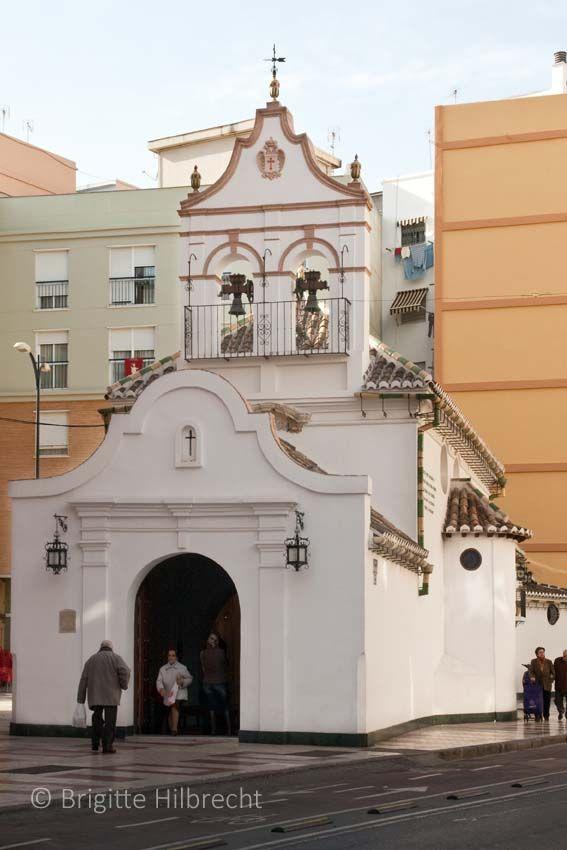 #Málaga #Churches #ErmitaZamarilla #Travel #Guide All places of interest you'll find here: http://www.amazon.co.uk/M%C3%A1laga-Capital-Coast-Brigitte-Hilbrecht/dp/1517300533/ref=sr_1_1?s=books&ie=UTF8&qid=1456574193&sr=1-1&keywords=malaga