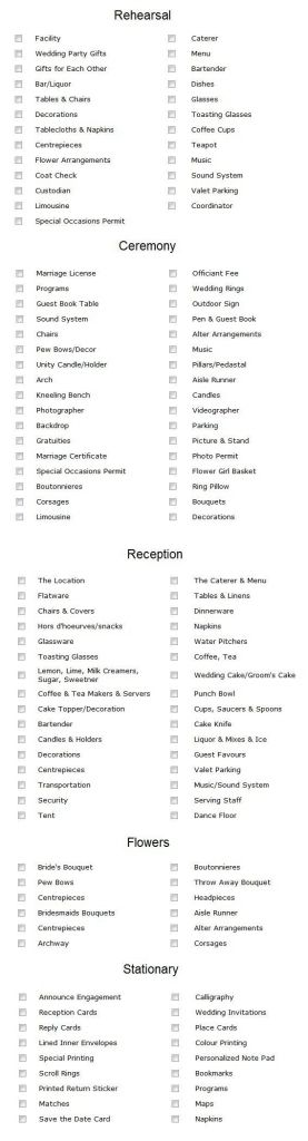 25+ cute Wedding checklist template ideas on Pinterest Wedding - wedding checklist template