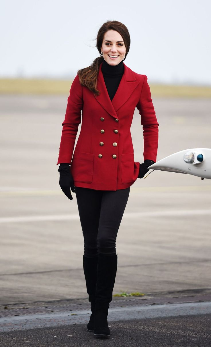 The Duchess of Cambridge - RAF Wittering, Peterborough - February 14, 2017