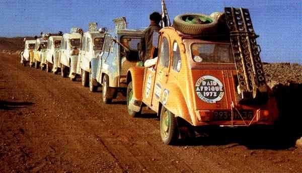 1973 Raid Afrique 2CV
