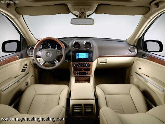 interior photos of mercedes benz gl 450 | Mercedes Gl class Interior