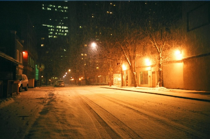 Massive snow fall over night in Toronto. '09