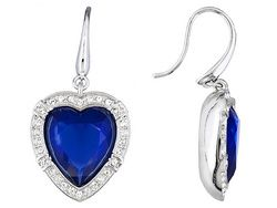 Titanic Jewelry Collection (Tm) Lucile's Noble Heart Earrings