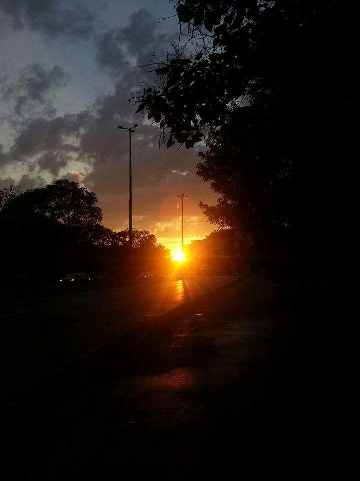 Naptemető...