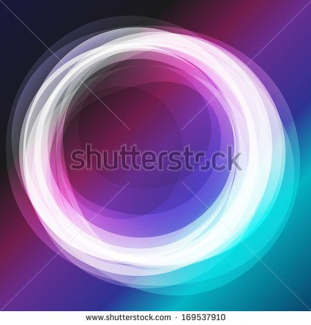 Abstract shiny ellipse circle background.