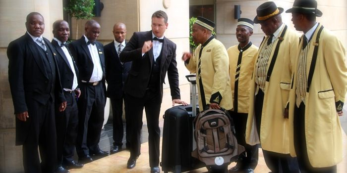 Hotel #Butler Training – Reference from The Michelangelo Hotel