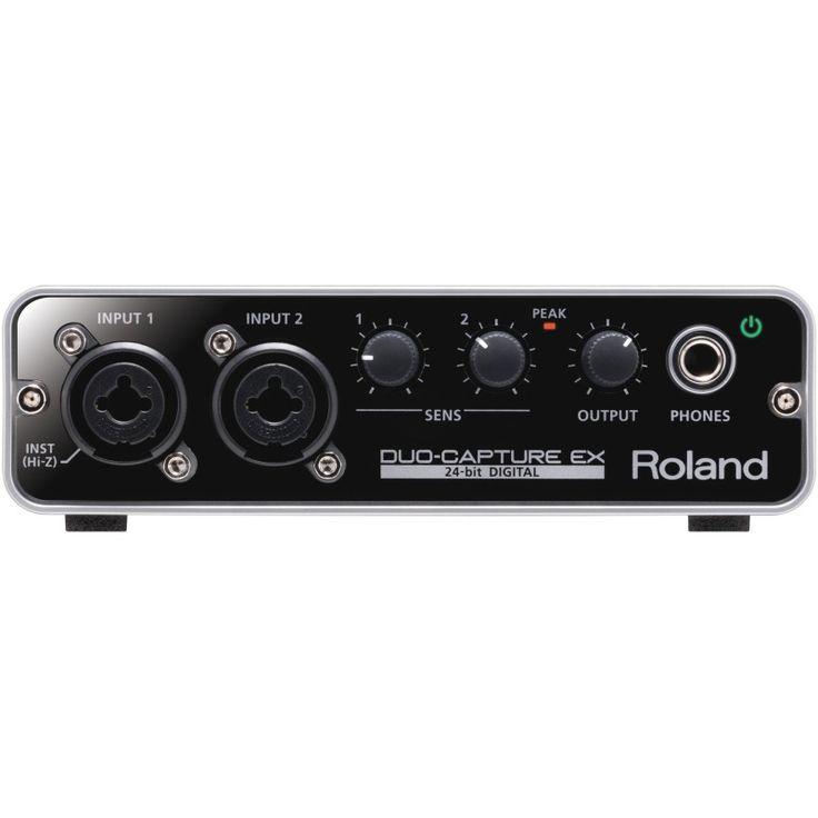 Roland DuoCapture EX USB Audio Interface