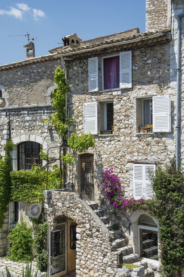 Saint Paul de Vence, typical house