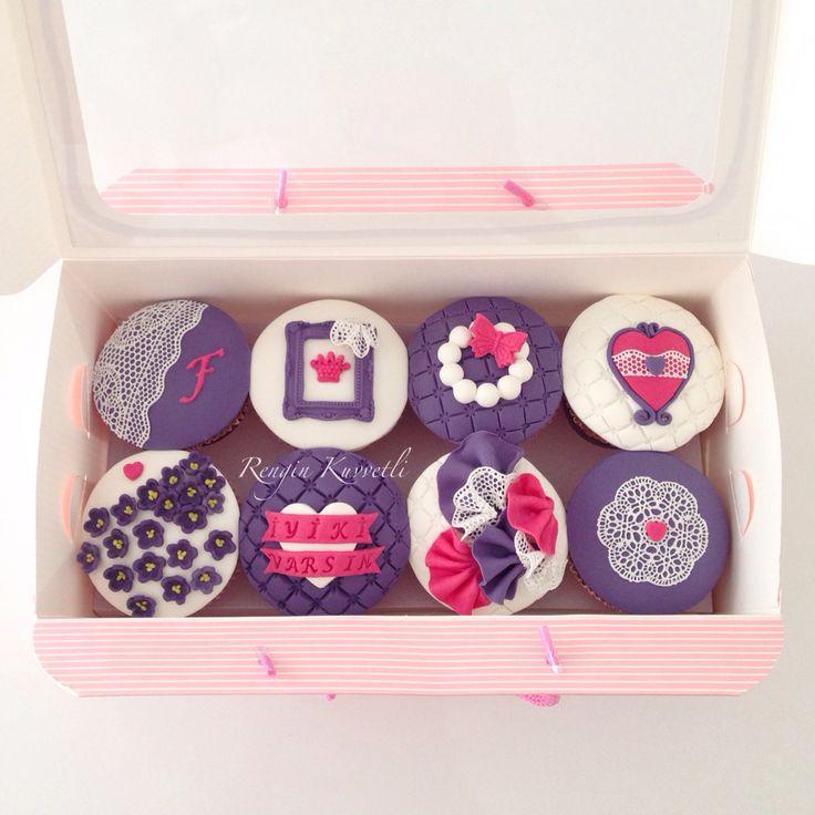 Cupcake Hediye Kutusu / Cupcake Gift Pack
