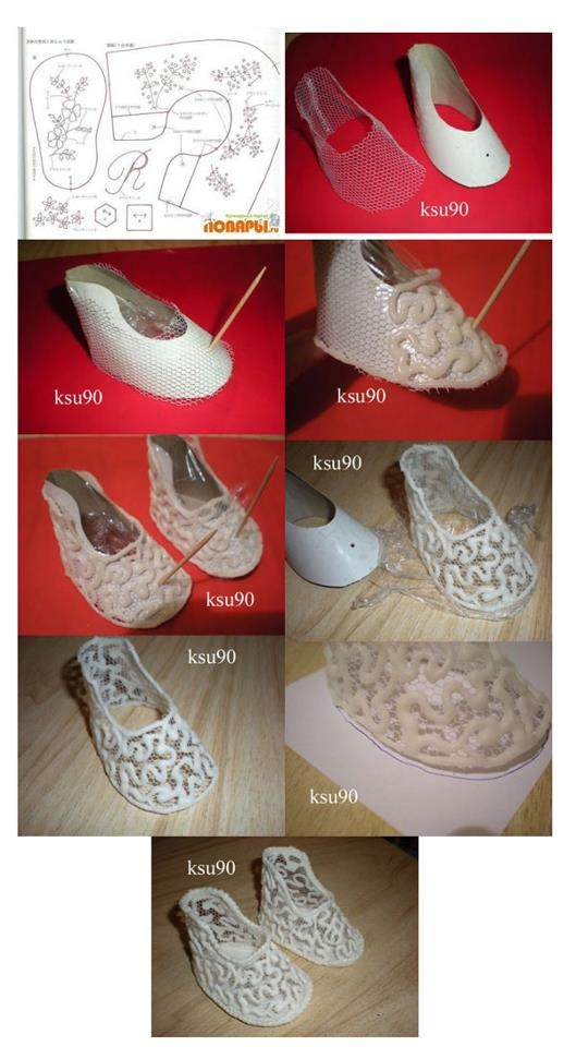 step by step shoes...