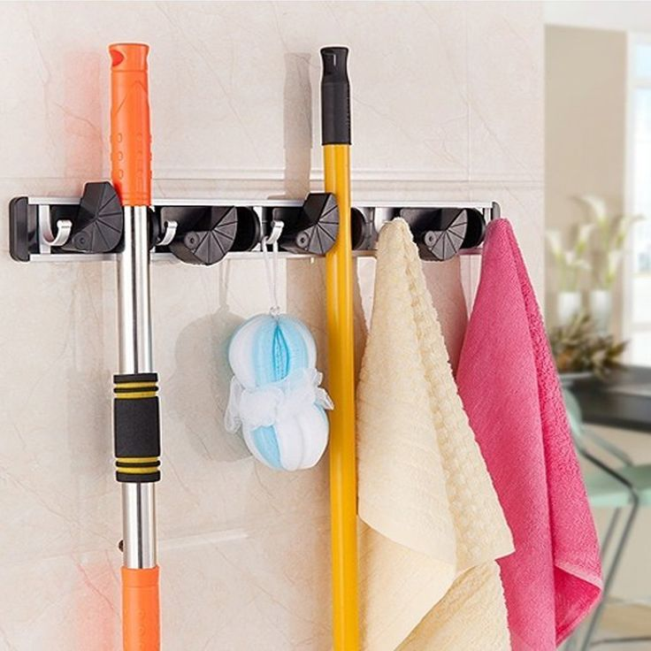 Best 25+ Broom holder ideas on Pinterest | Garage ...