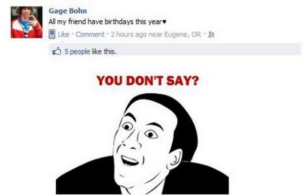 50 best images about °•.~YoU DoN't SaY...~.•° on Pinterest ...  Funny