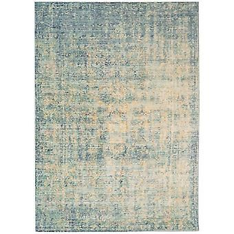 Verve VE07 blauwe rechthoek tapijten Funky tapijten