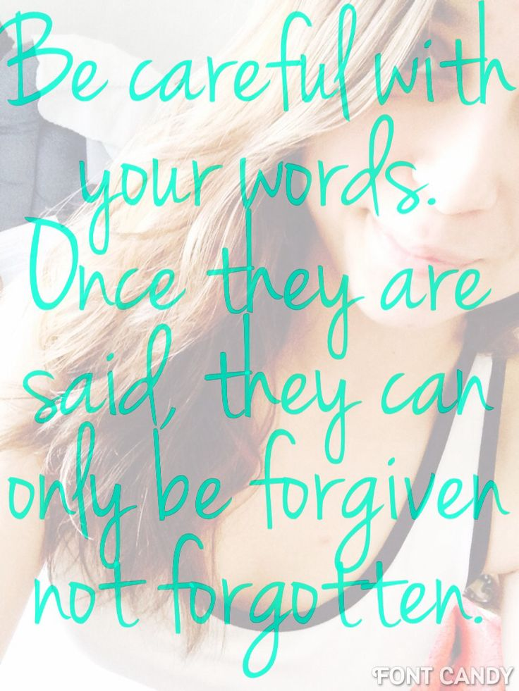 Only forgiven