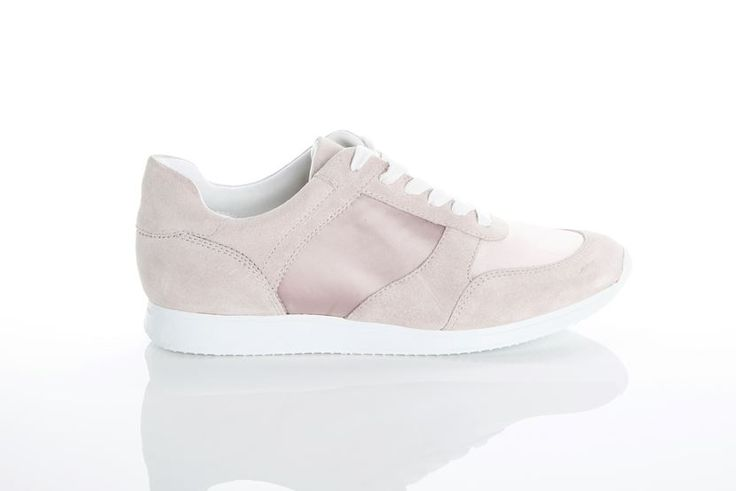 Vagabond - KASAI. This is a part of Sneakers by Vagabond.     Inspired by retro runners but with a clearly modern vibe, this monochrome pink suede and satin sneaker is a new addition to popular group Kasai.