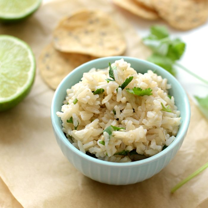 The day Chipotle started making cilantro lime BROWN rice was the best day ever! I was inspired to make this recipe for 2 reasons: 1. Blake and I got Chipotle 2 weeks ago and as we were waiting in …