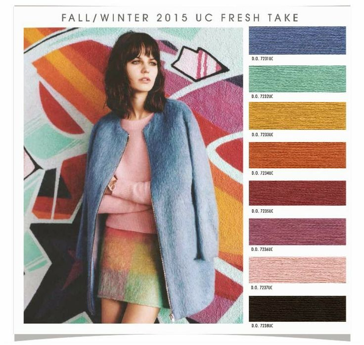 Fall/Winter 2015 UC Fresh Take from Design Options forecasting company via Fashion Vignette blog