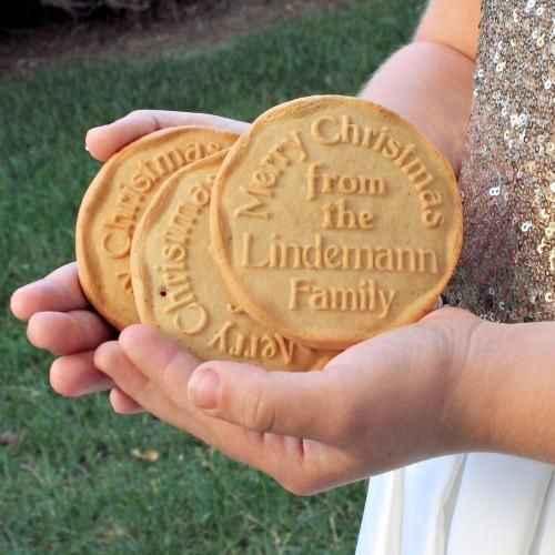personalized cookie cutters, personalised, personalized cookie stamp for Christmas by ScissorMill