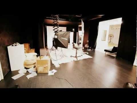 Genelec photoshoot, timelapse at Alias Studiot