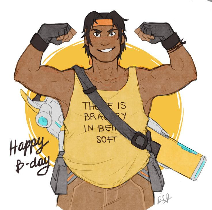 Rolierose Happy Late Birthday Hunk