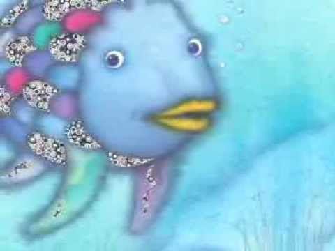 Arc en ciel le plus beau poisson des océans Etude du livre avec cartes de vocab et joli petit clip sur youtube