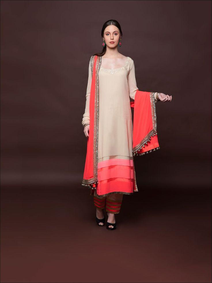 Anarkali Suits By Manish Malhotra Full Sleeves 2015