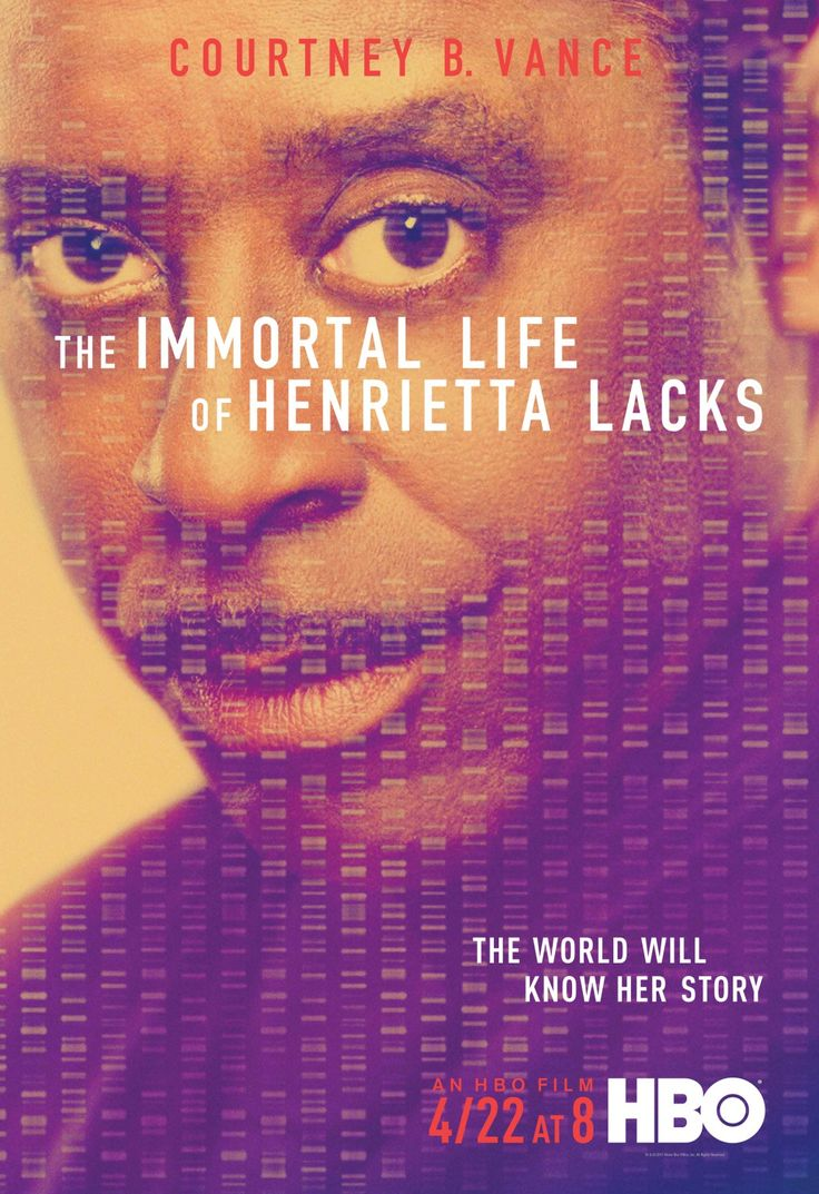 The Immortal Life of Henrietta Lacks Courtney B. Vance Poster