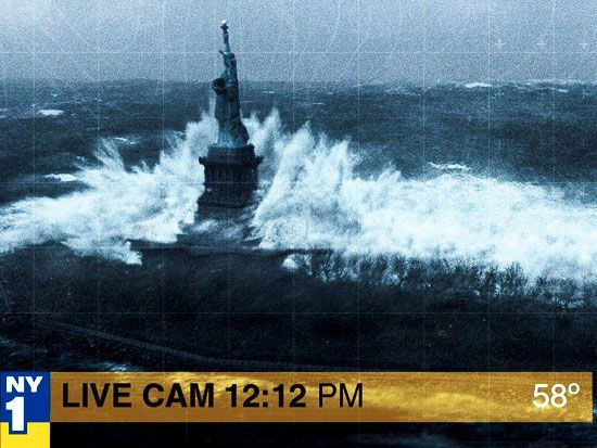 Use the form below to delete this Statue Of Liberty After Hurricane Sandy image…