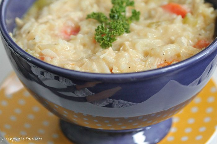 Classic Cheesy Chicken And Rice Soup Recipe — Dishmaps