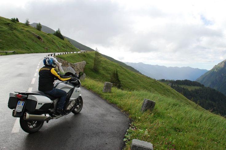 Grossglockner in moto
