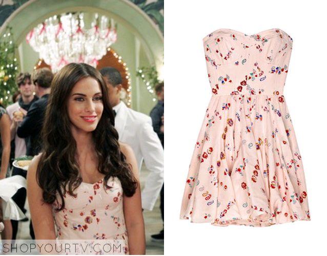 adrianna pink strapless dress