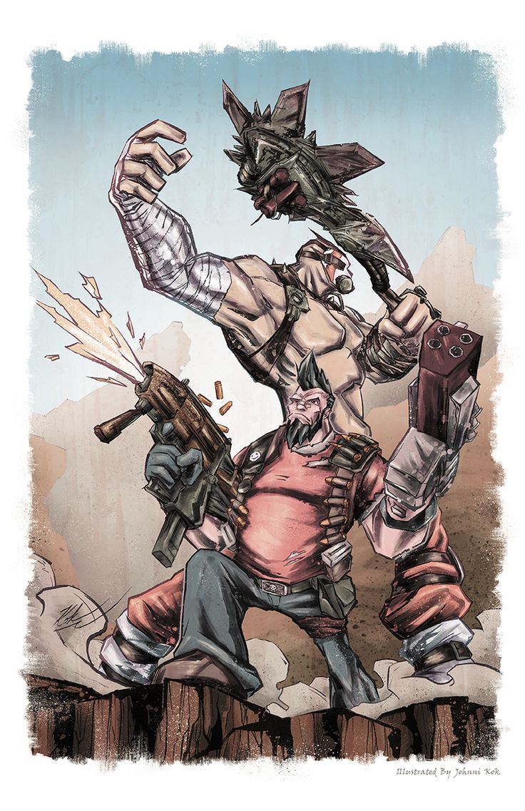 Krieg Borderlands 2 Armor