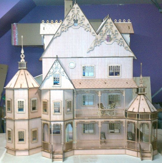 76 Best Doll Houses For Adults Images On Pinterest