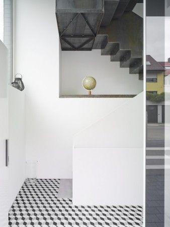 Kafle cementowe  Articima nr 360. Achim Birnbaum Architekturfotografie