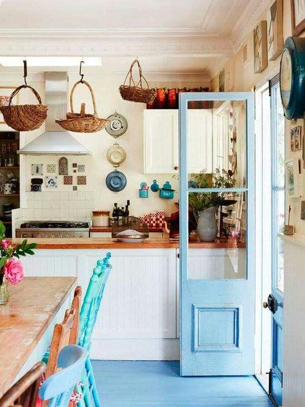 Skinny double doors