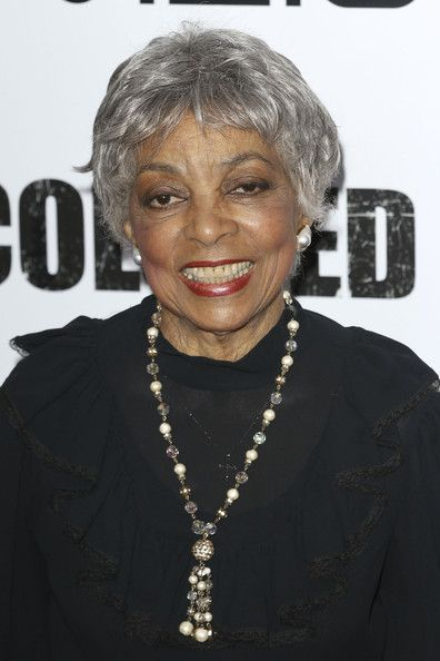 "Ruby Dee Ruby Deeat the ""For Colored Girls"" movie premiere held at the Ziegfeld Theatre in Manhattan, New York."