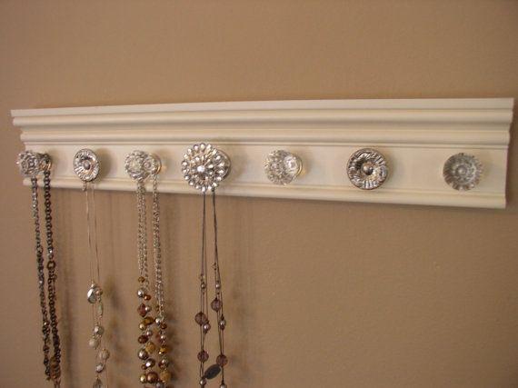 jewelry holder Great gift necklace organizer has 7 von Gotahangup