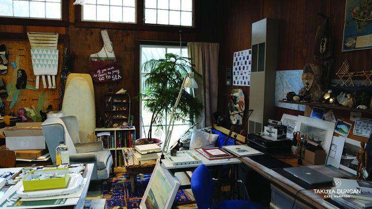 Artist Scott Bluedorn Studio East Hampton