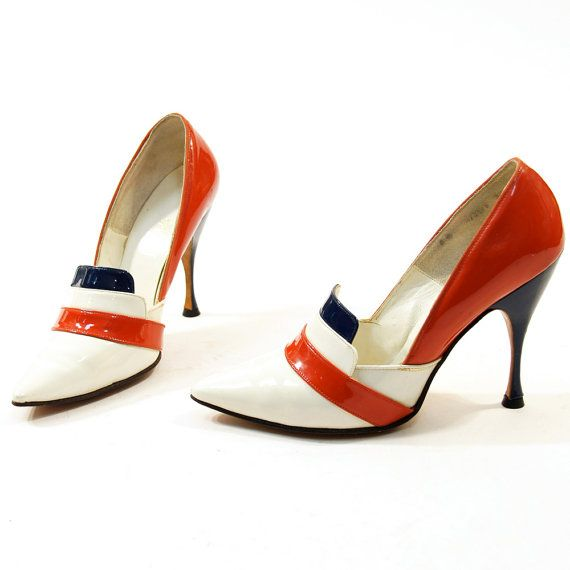 Frederick's of Hollywood Patriot Pumps by nickiefrye on Etsy,  - only wish they were my size!